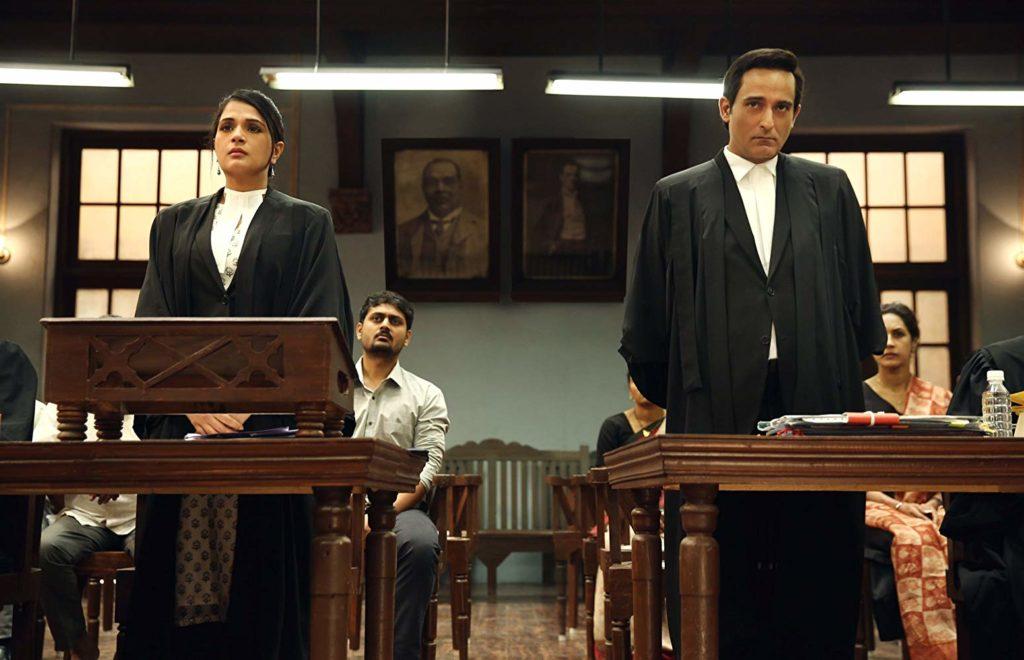 Akshaye Khanna and Richa Chadha in Section 375 (2019)-cinemabaaz.xyz