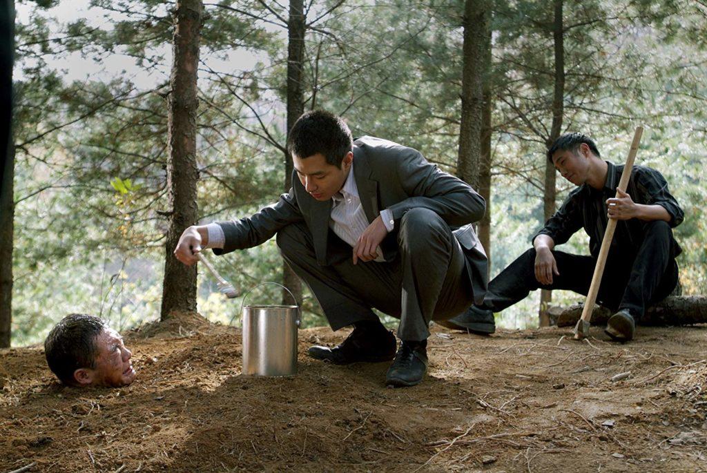 In-Sung Jo and Goo Jin in Biyeolhan geori (2006)-cinemabaaz.xyz
