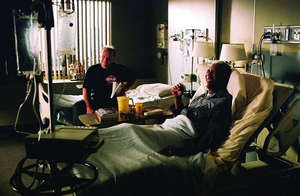 Morgan Freeman and Jack Nicholson in The Bucket List (2007)-cinemabaaz.xyz