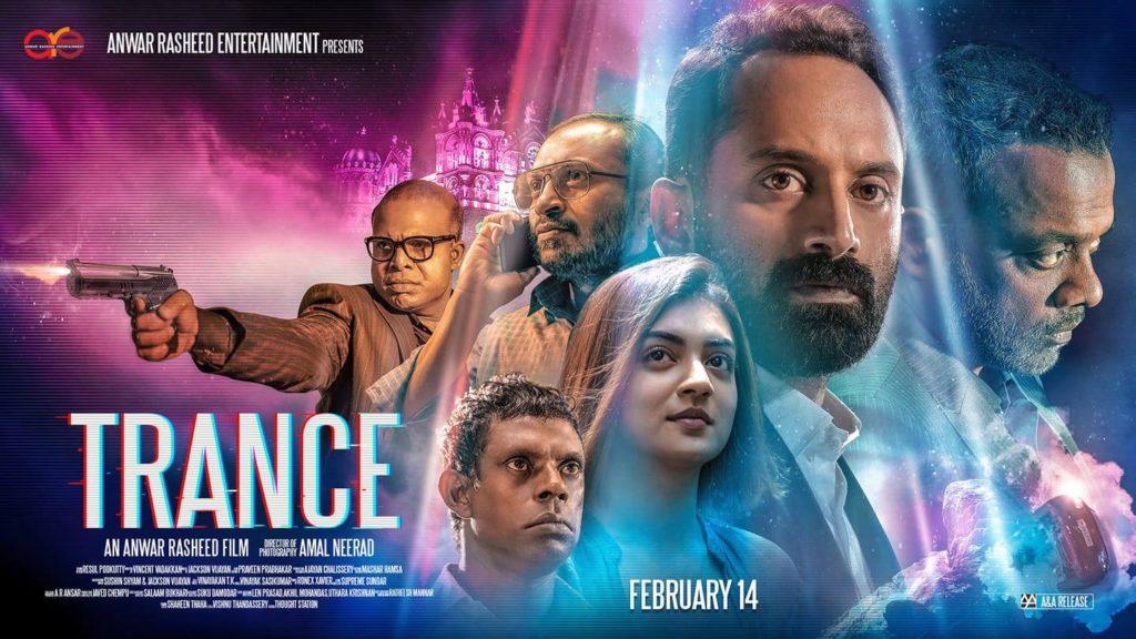 Gautham Vasudev Menon, Fahadh Faasil, Vinayakan, Nazriya Nazim, Chemban Vinod Jose, and Soubin Shahir in Trance (2020)-cinemabaaz.xyz