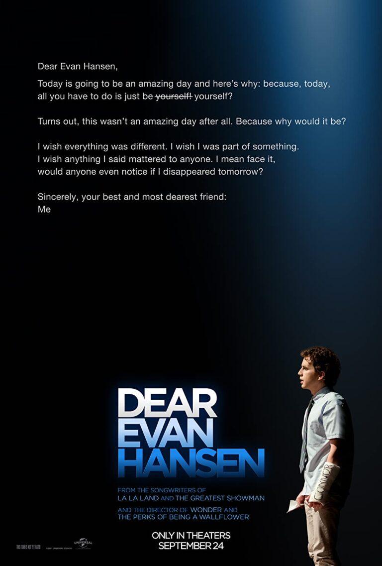 Dear Evan Hansen (2021) cinemabaaz.xyz